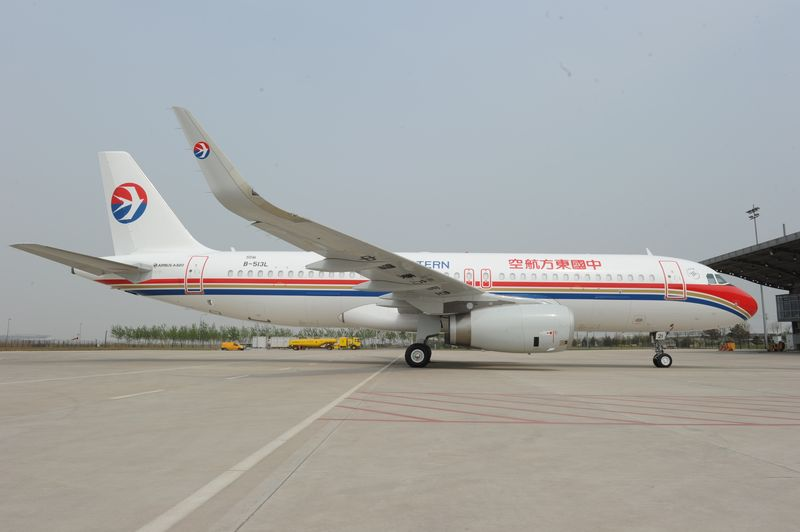 First Chinese assembled A320 with Sharklets goes to China Eastern