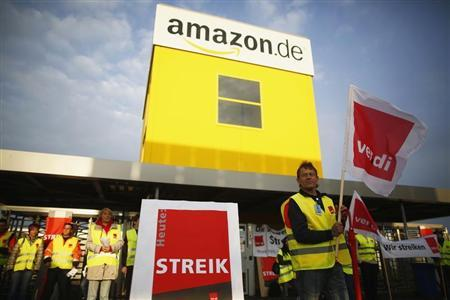 Amazon workers in Germany set for second strike for higher pay