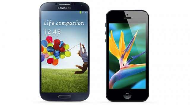 Brief Review Samsung Galaxy S4 vs. iPhone 5 : TecHead