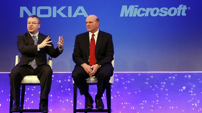 Microsoft buys Nokia phones