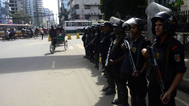 Police fire on protesters in strike-hit Bangladesh