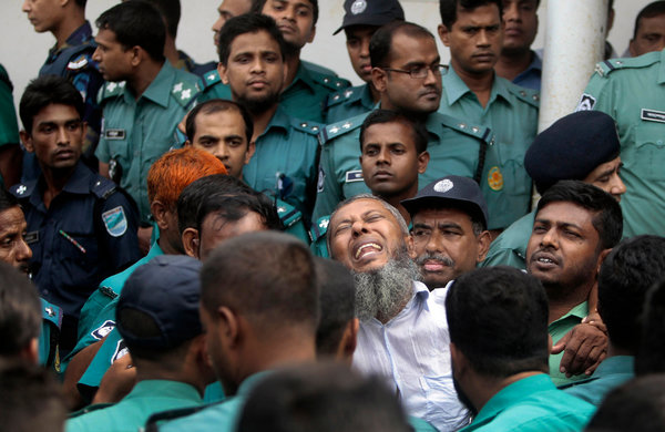 152 Border Guards Given Death Penalty Over Revolt in Bangladesh