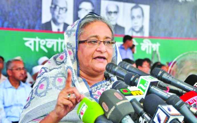 Bangladesh : PM renews her call to opposition leader to join polls