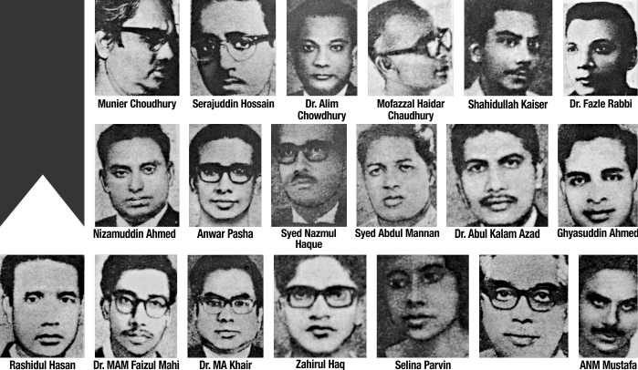 Martyred Intellectuals Day tomorrow