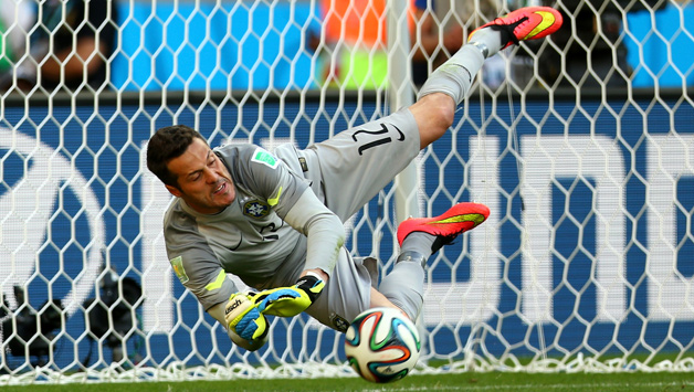 Brazil beat Chile on penalties to reach World Cup quarters