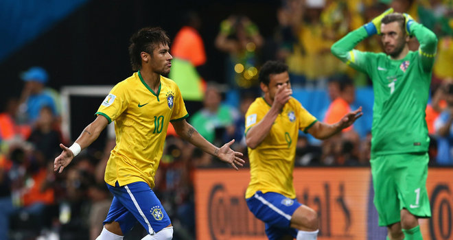 Neymar scores twice as Brazil defeat Croatia 3-1 in opening game