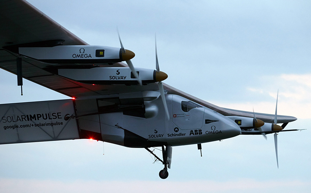 Solar Impulse 2, the solar-powered plane that never has to land