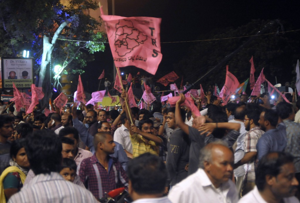 India's 29th state Telangana is born : T-party today