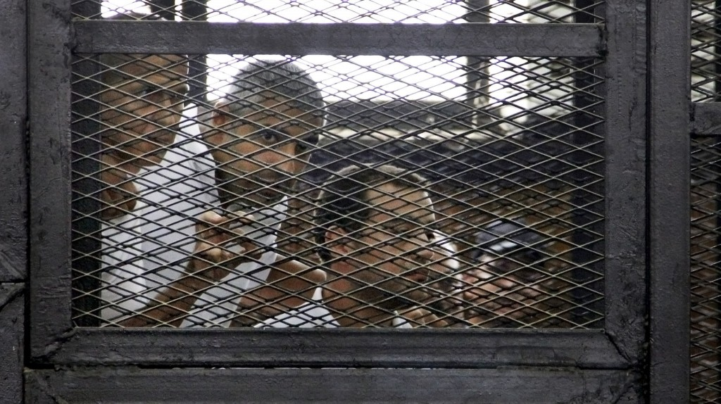 Egyptian court takes the freedom of the press in the dust