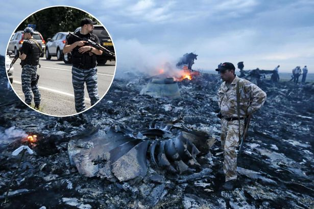 Roads to Malaysian Airlines flight MH17 crash site 'MINED by pro-Russia forces'