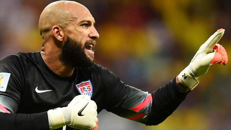 USA boss Jurgen Klinsmann hails Tim Howard's show against Belgium