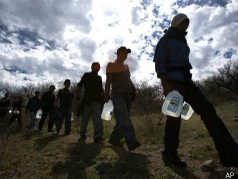 Group of Illegal Aliens from Bangladesh, Nepal, Sri Lanka Caught Entering Texas from Mexico