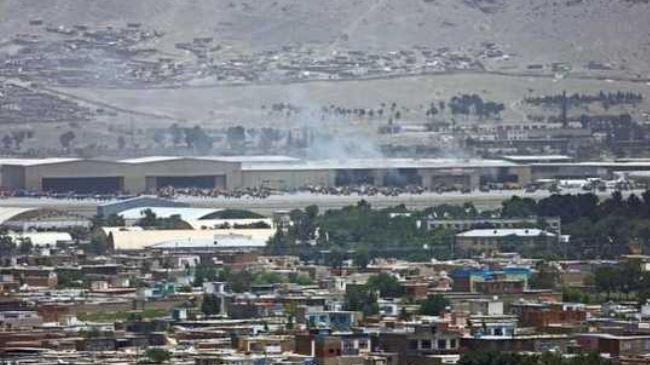 Taliban militants destroy Karzai's helicopter