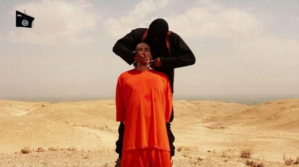 A video released by ISIS shows the beheading of U.S. journalist James Foley-1