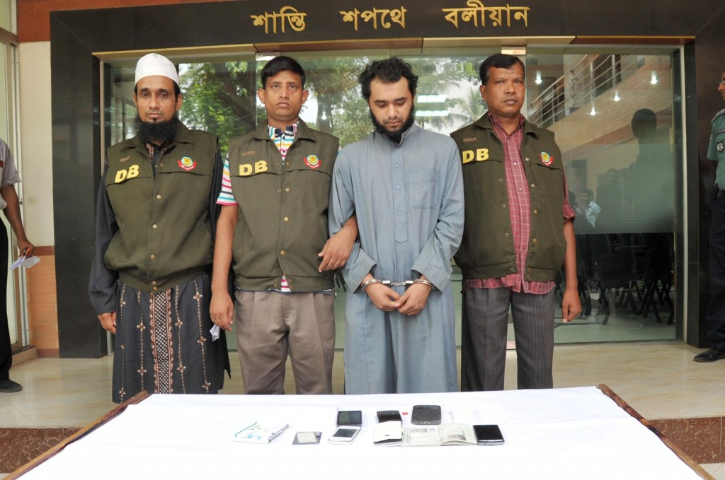 Bangladesh-born UK citizen held over IS, Nusra link in city