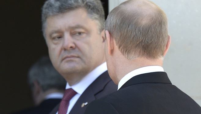 Ukraine's Poroshenko says will meet Putin in Italy next week