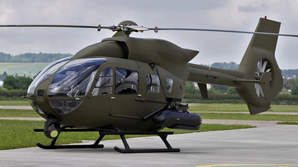 First flight of Airbus Helicopters' EC645 T2