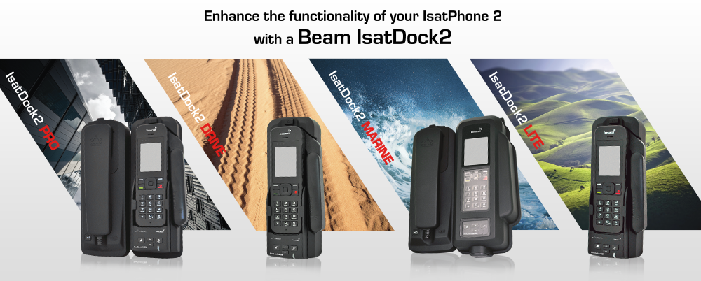 INMARSAT APPROVES WORLDS FIRST ISATDOCK2 FOR ISATPHONE 2 BY BEAM