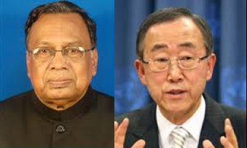 FM discusses political situation with Ban Ki-moon