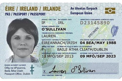 Ireland's New ID Card Lets You Use a Selfie As Your Photo