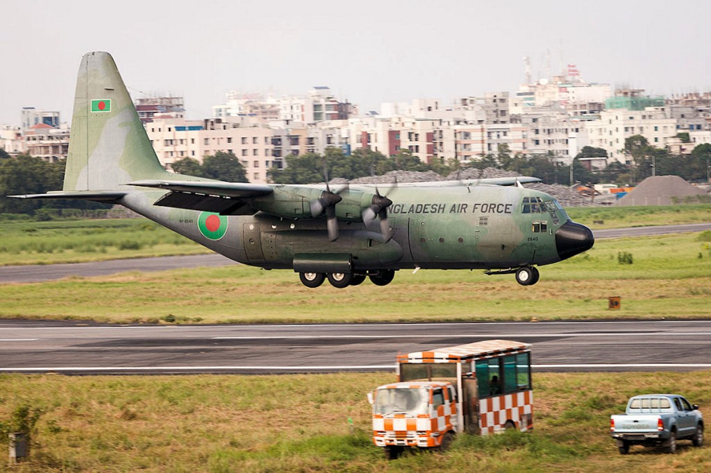 BAF aircraft reached home from Nepal