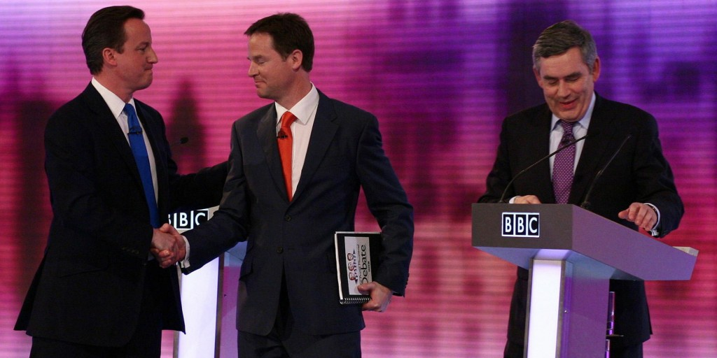 UK Election - Miliband stumbles, Cameron dodges