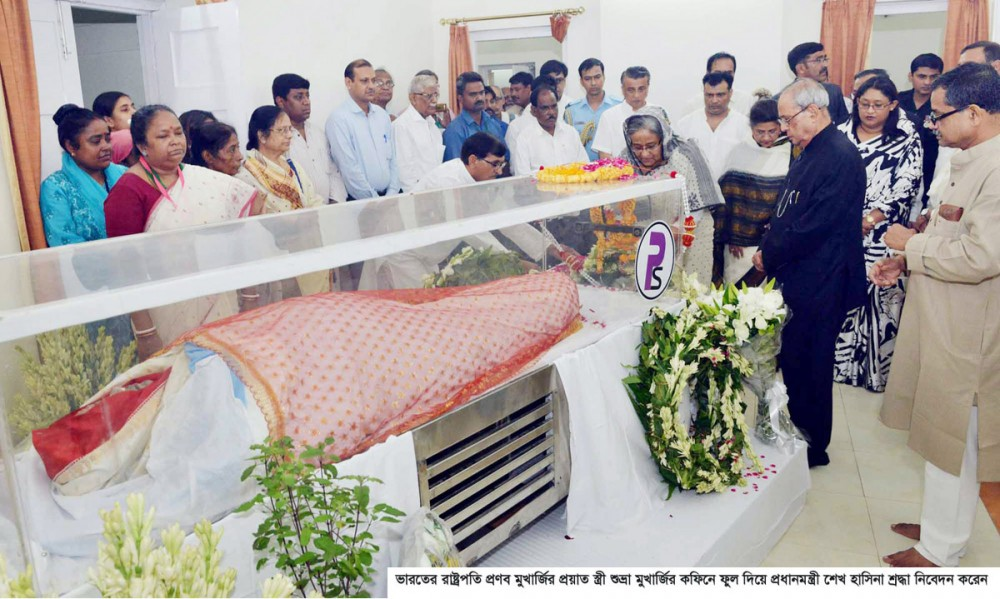 PM pays tributes to Suvra Mukherjee