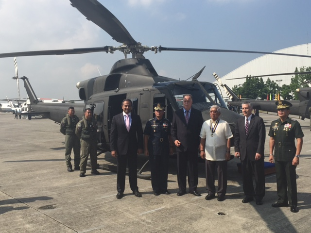 Bell Helicopter Delivers Final Bell 412EP Aircraft to the Philippine Department of National Defense
