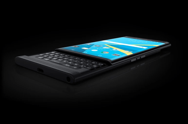BlackBerry Priv: BlackBerry reveals first official photos of its first-ever Android phone