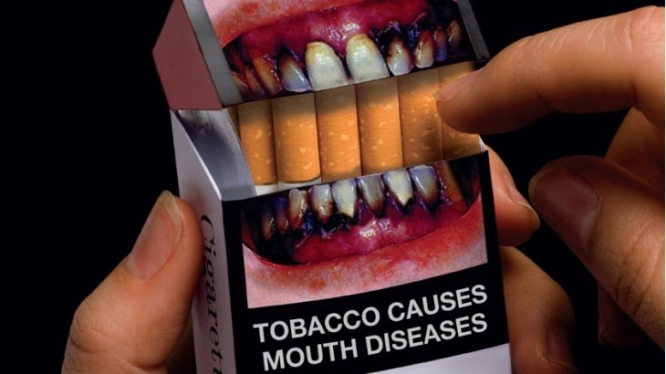 Graphic warning coming on cigarette packet in 2016