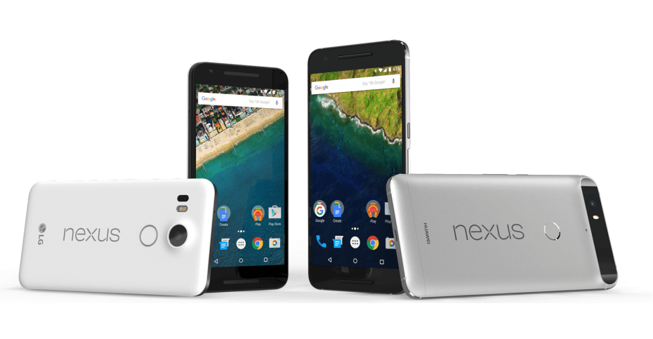 Google's seventh-generation phones are now official : Nexus 5X and Nexus 6P