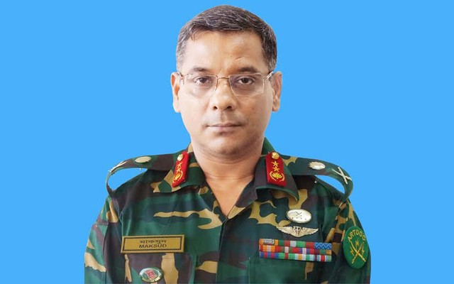 Major General Mohammad Maksudur Rahman
