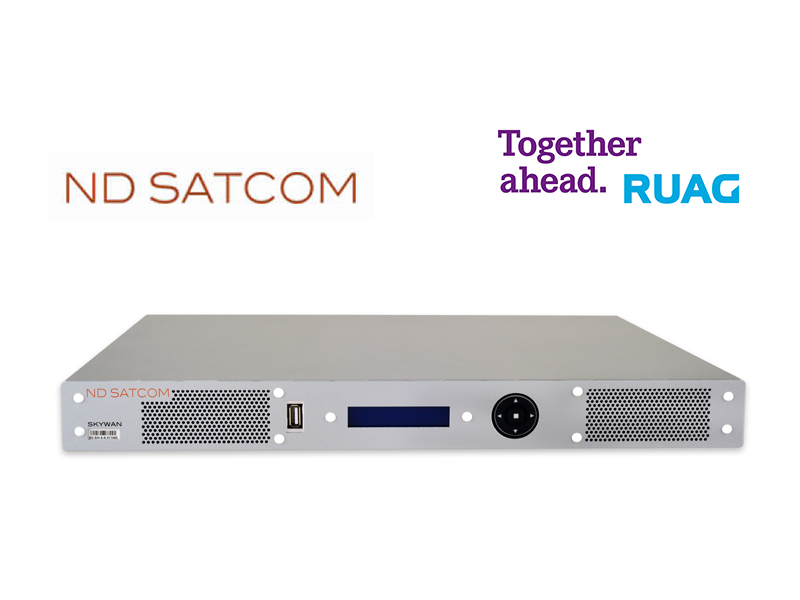ND SatCom and RUAG announce mobile satellite communication co-operation at TechNet Europe 2015