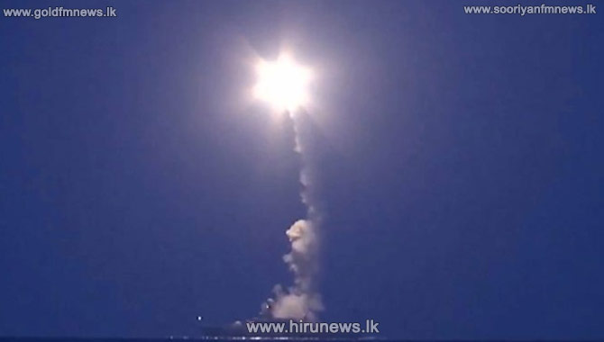 Russian Caspian missiles 'fell in Iran'