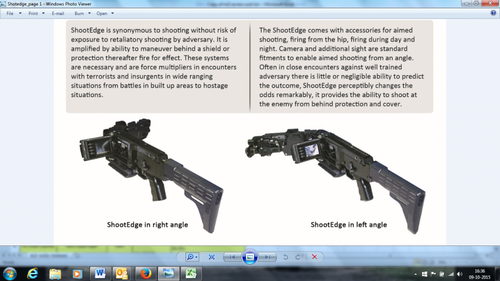 Zen Technologies unveils ShootEdge at India International Security Expo 2015
