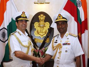 Bangladesh Navy Chief in India to review cooperation between navies