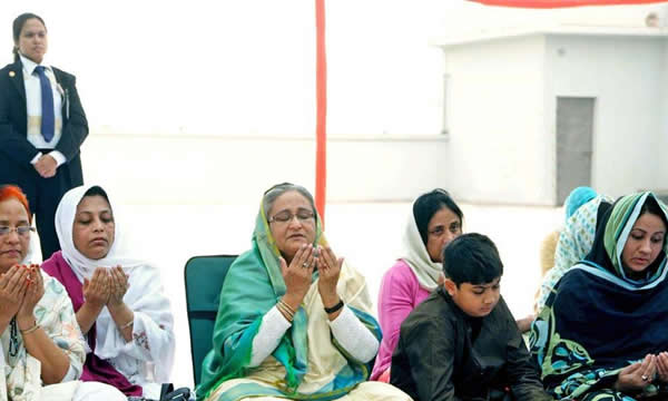 PM joins Biswa Ijtema Akheri Munajat