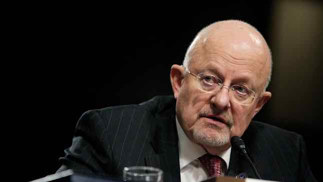 US spy chief's personal accounts hacked