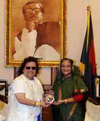 Bappi Lahiri meets PM