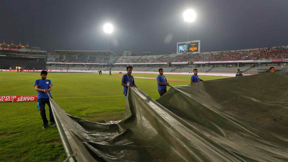 Asia Cup T20: rain stopped finally