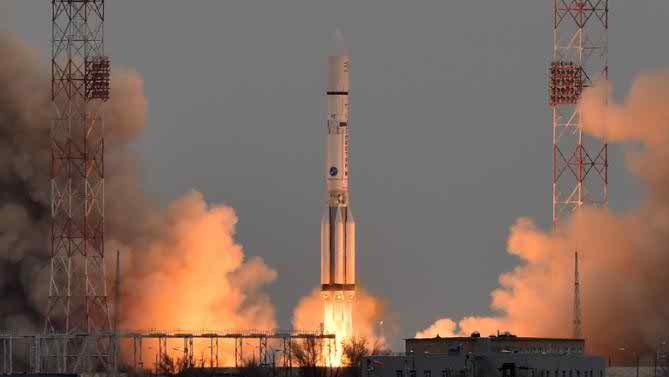 Russia-Europe rocket blasts off on mission seeking life on Mars