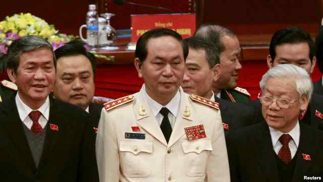 Police general becomes Vietnam's new president