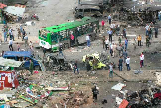 Multiple blasts in Syria govt strongholds kill 80
