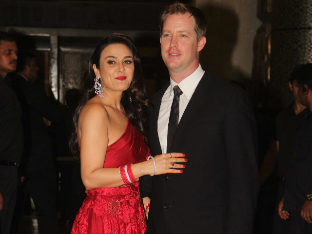 Preity Zinta's Reception: Salman Khan Attends With Iulia by His Side