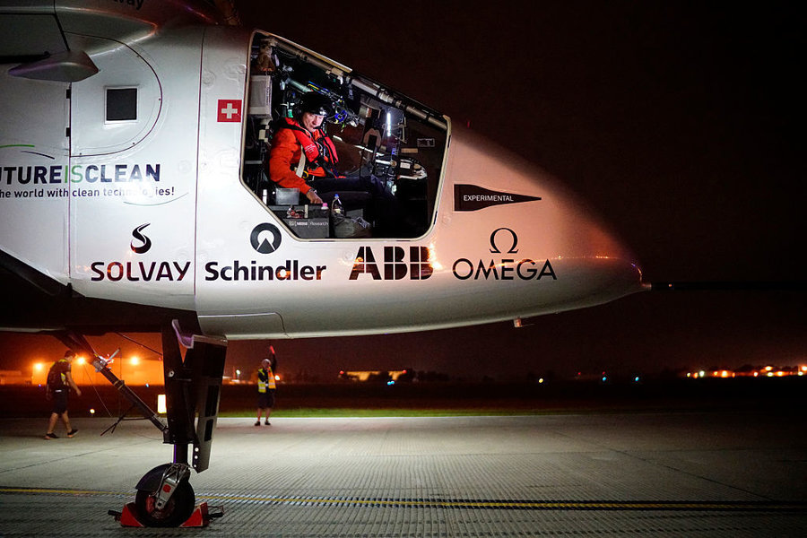 Solar Impulse plane postpones Ohio departure