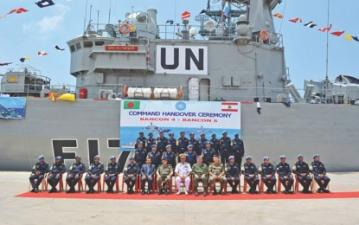 135 navy personnel off to Lebanon to join UN peacekeeping mission
