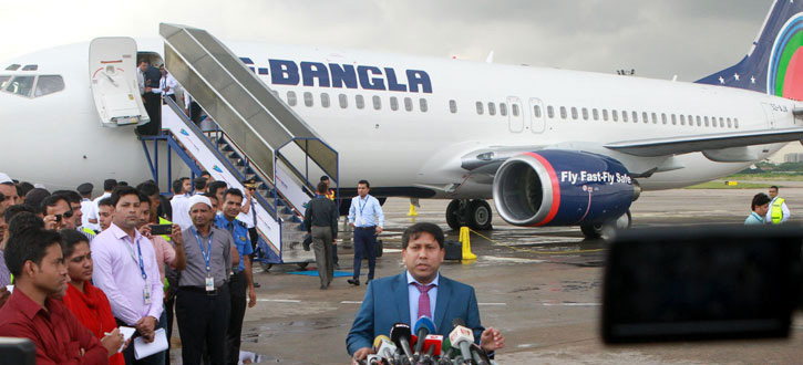 US-Bangla receives 1st Boeing aircraft to connect more int'l destinations