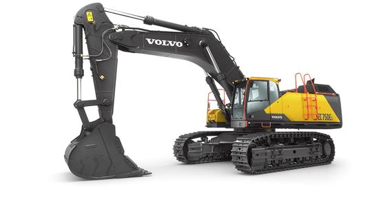 Volvo's largest ever excavator in action