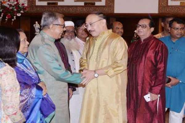 Unity, secularism, communal harmony the tradition of the people B'desh: President
