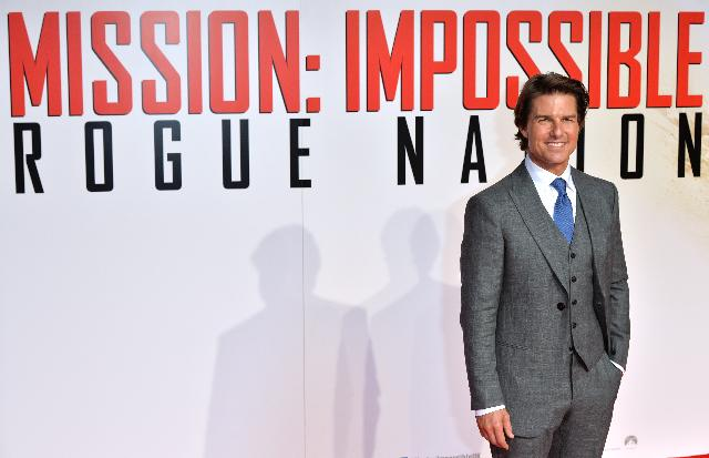 Cruise's 'Mission: Impossible' again tops US box office
